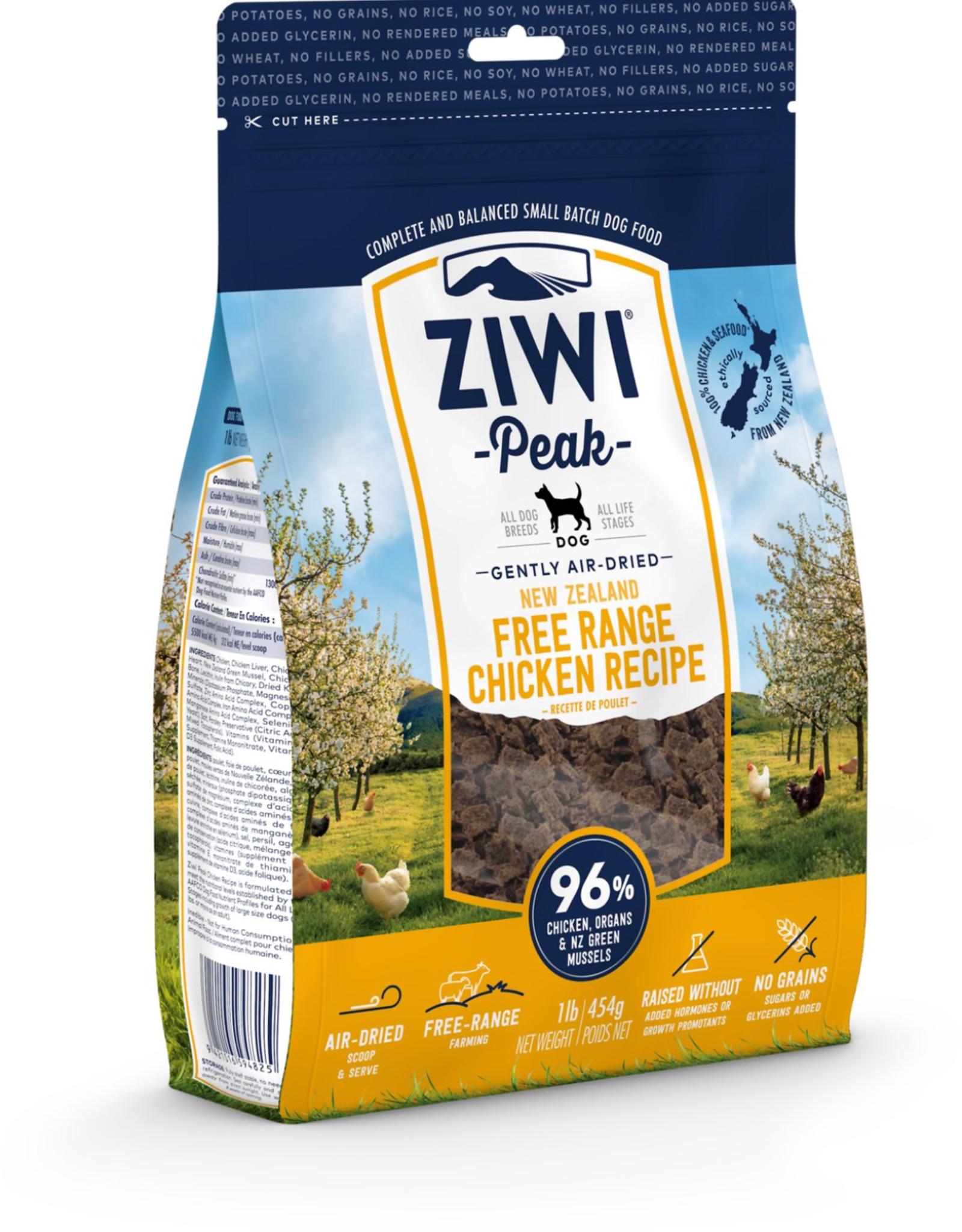 Ziwi Ziwi Peak - Dog Food - Chicken Flavored - 16oz