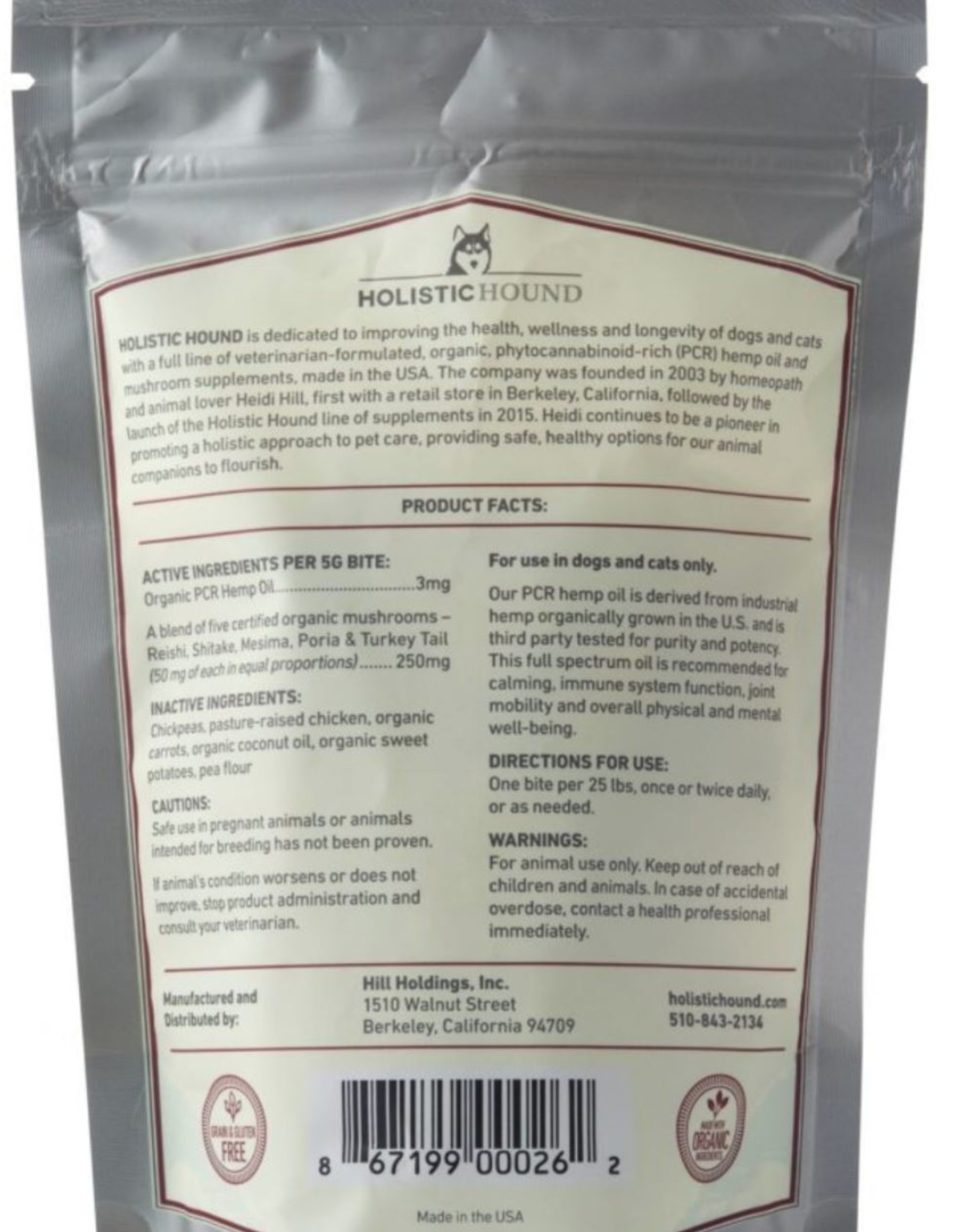 CBD Chicken Treats 3mg Trial Bag