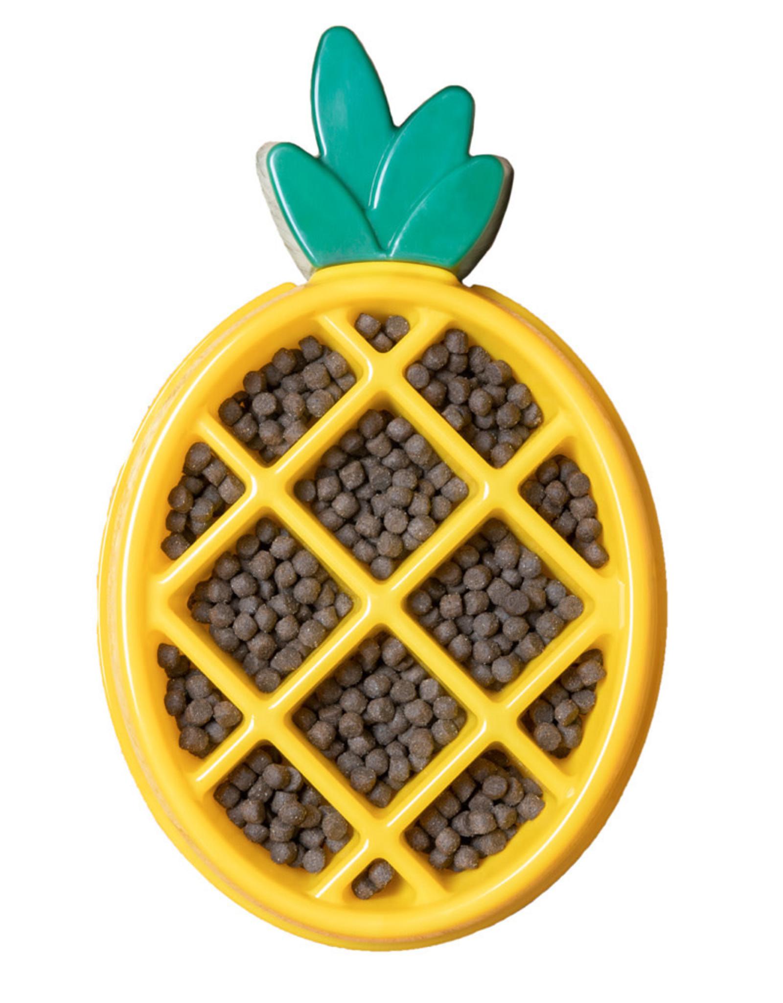 ZippyPaws Happy Bowl - Pineapple