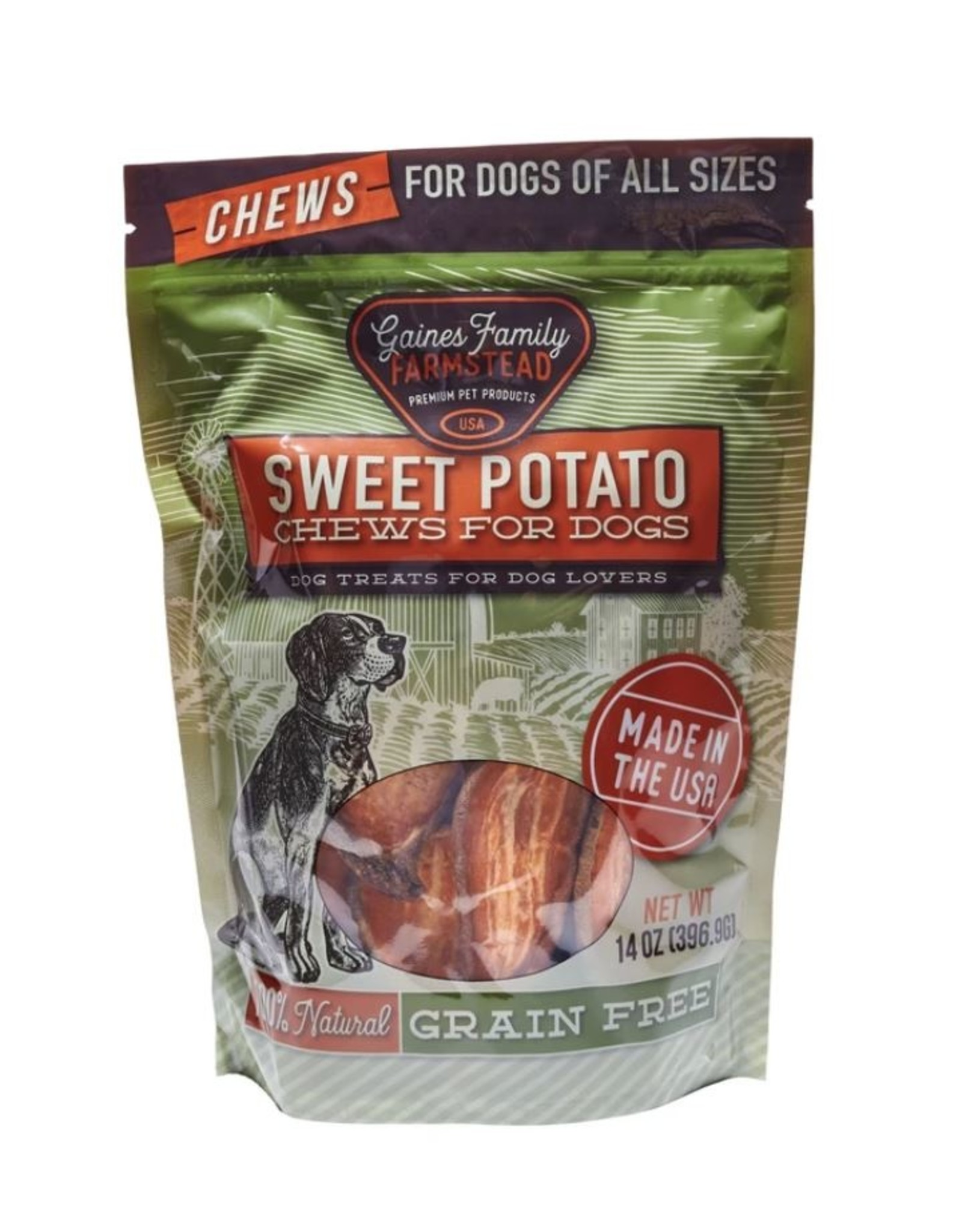 Gaines Family Farmstead Gaines Family Farmstead Sweet Potato Chews