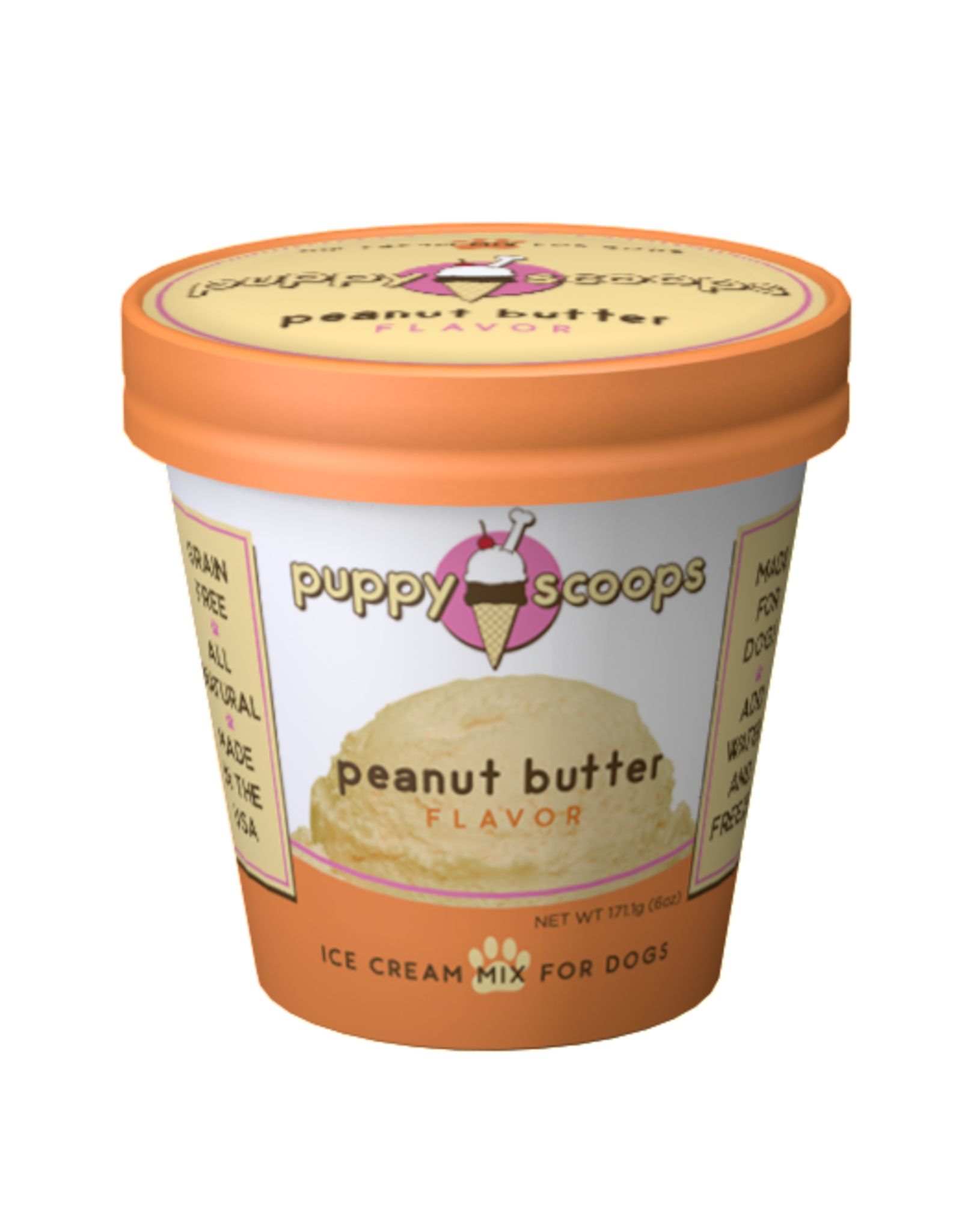 Puppy Scoops Mix Peanut Butter