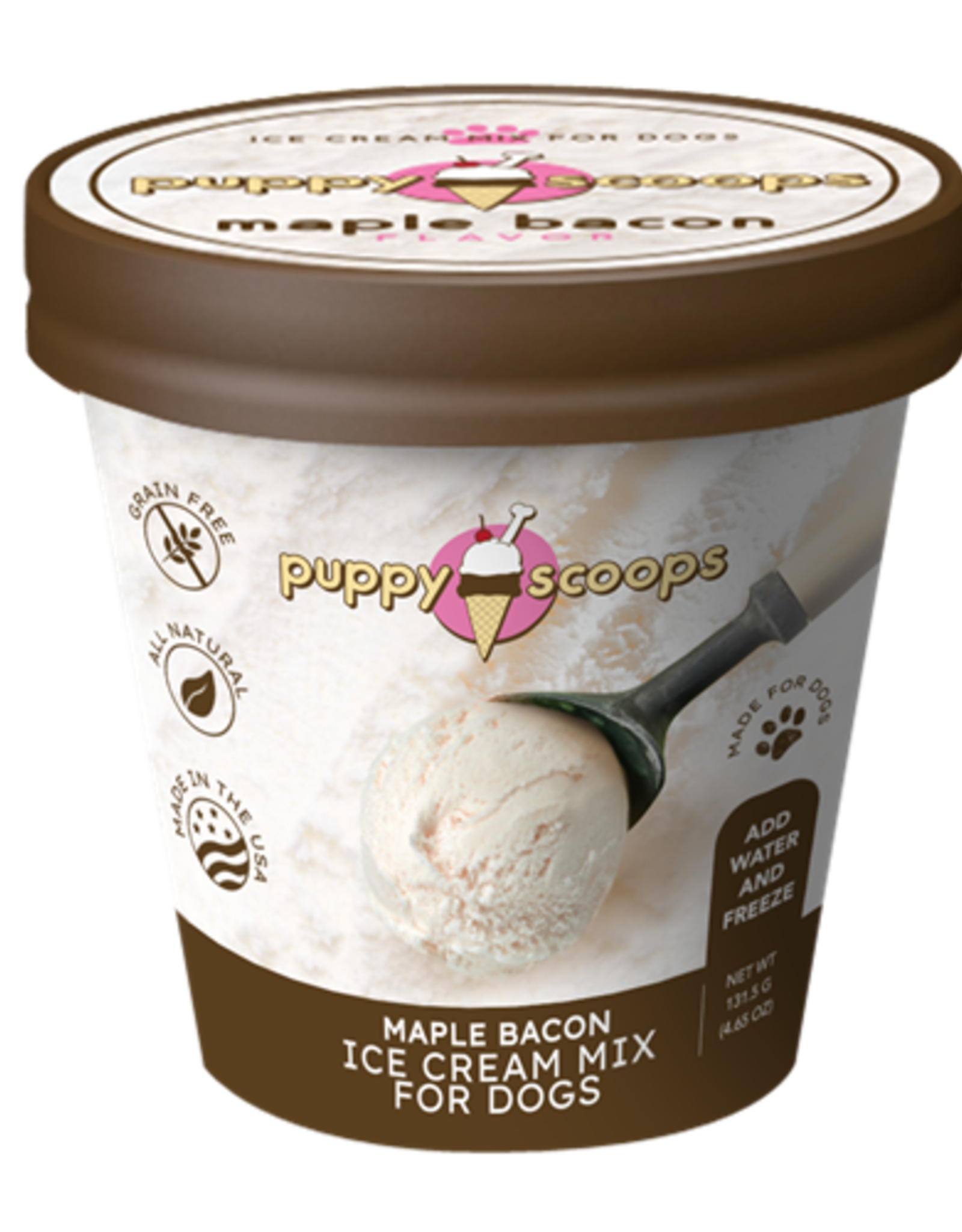 Puppy Scoops Mix Maple Bacon
