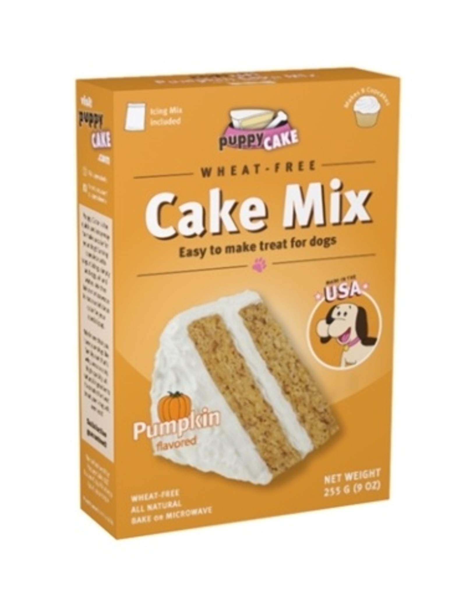 Cake Mix Pumpkin w/ Frosting