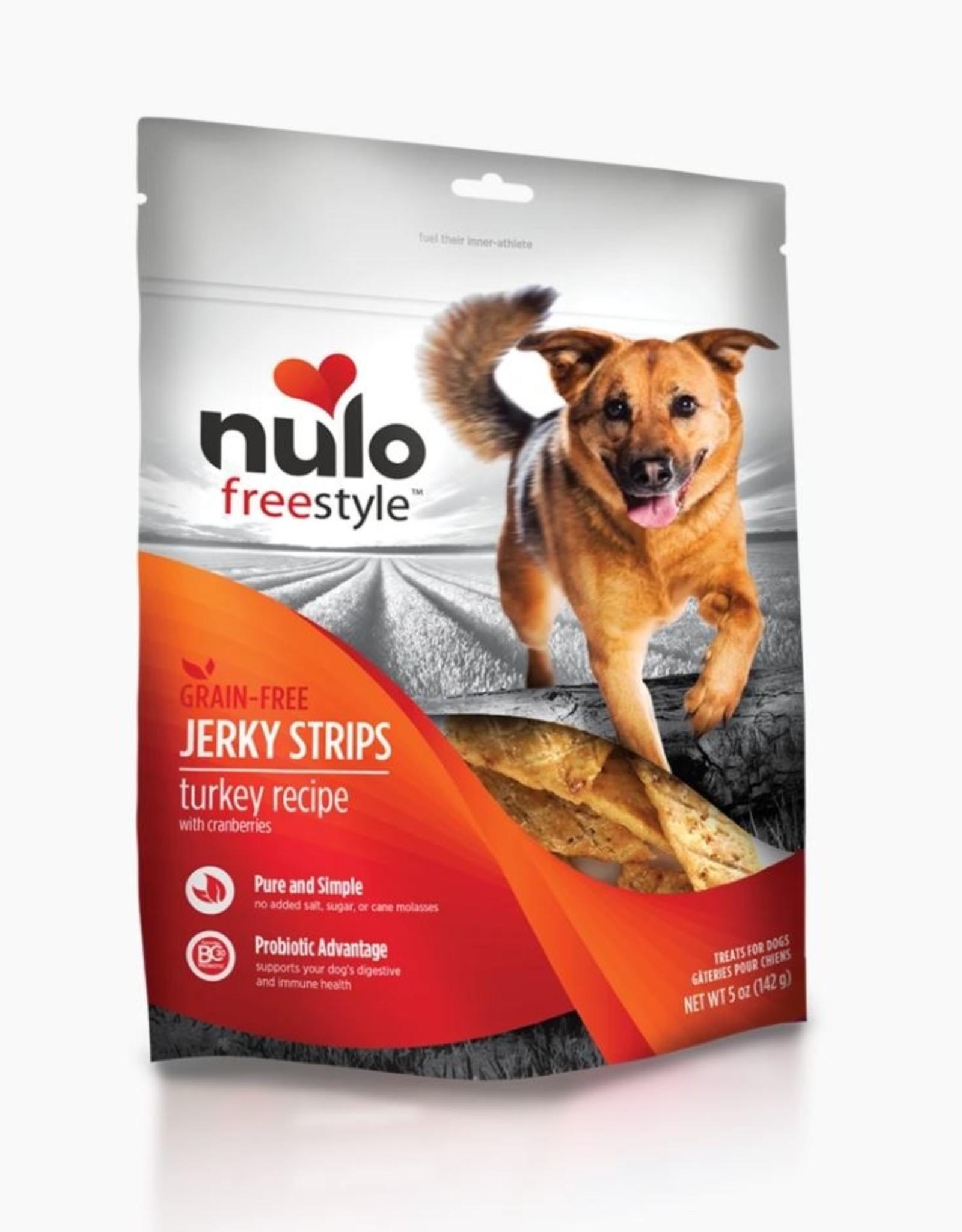 Nulo Jerky Strip Turkey with Cranberries 5oz