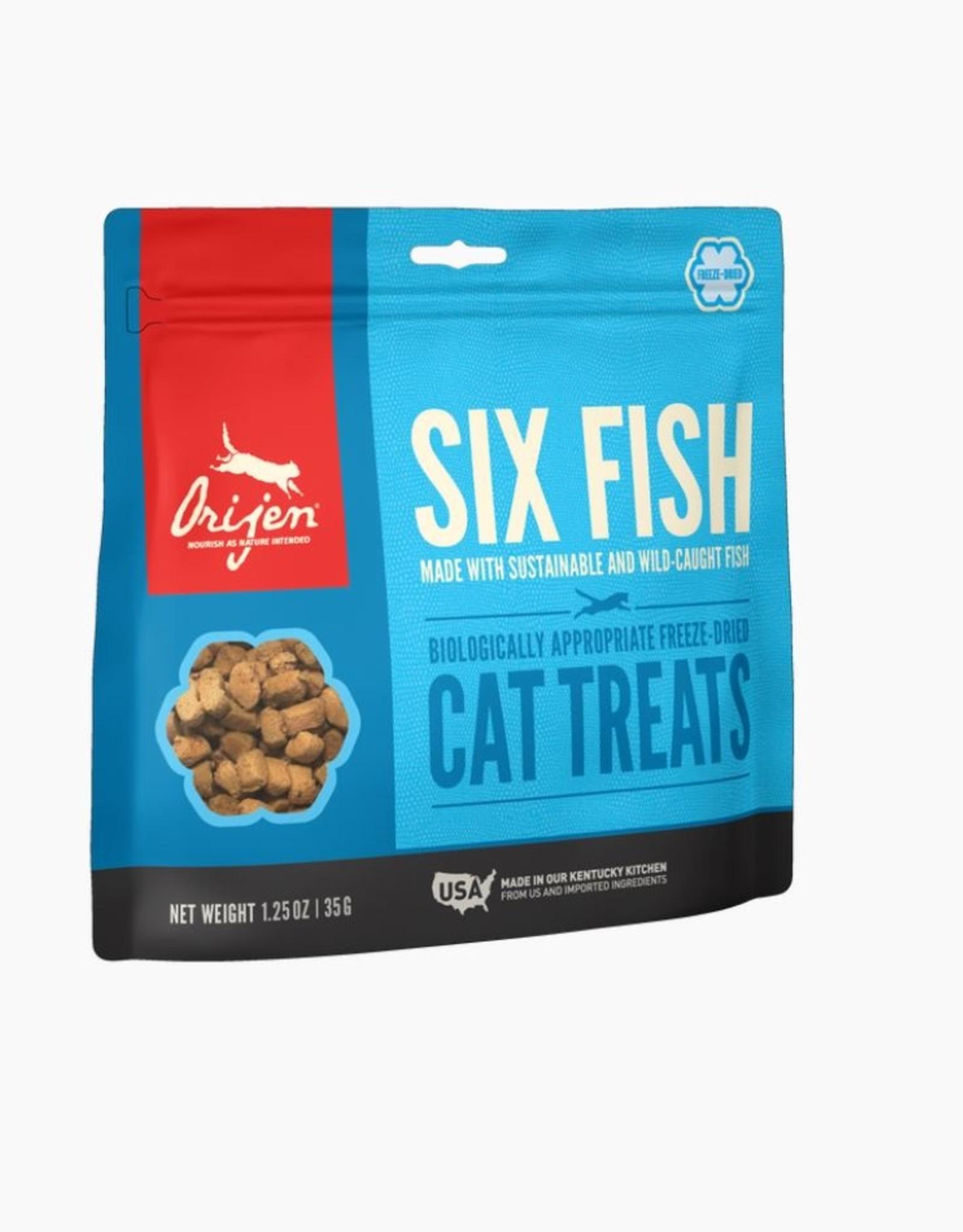 Orijen Treat 6 Fish Freeze Dried Cat 1.25oz
