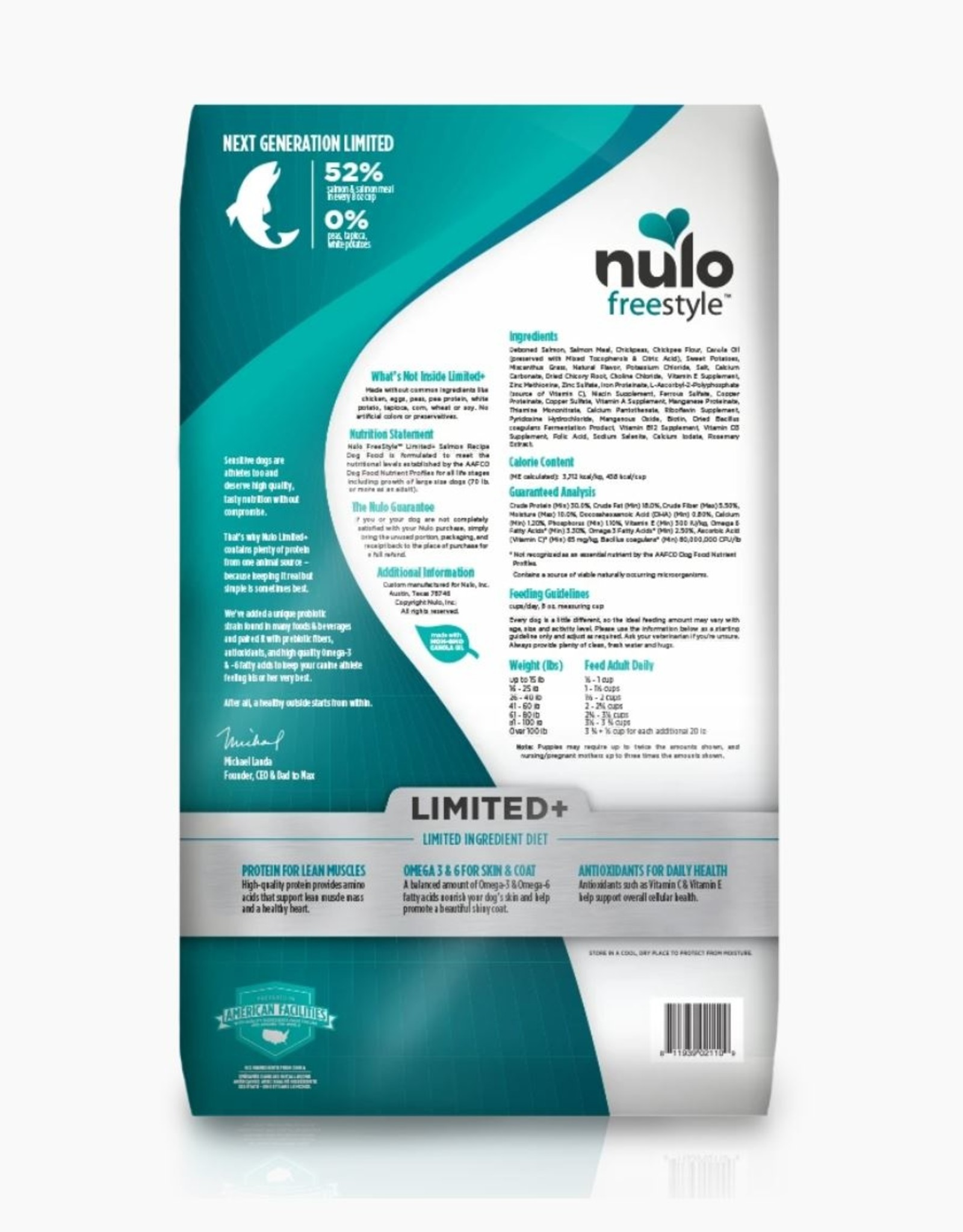 Nulo Limited+ Salmon