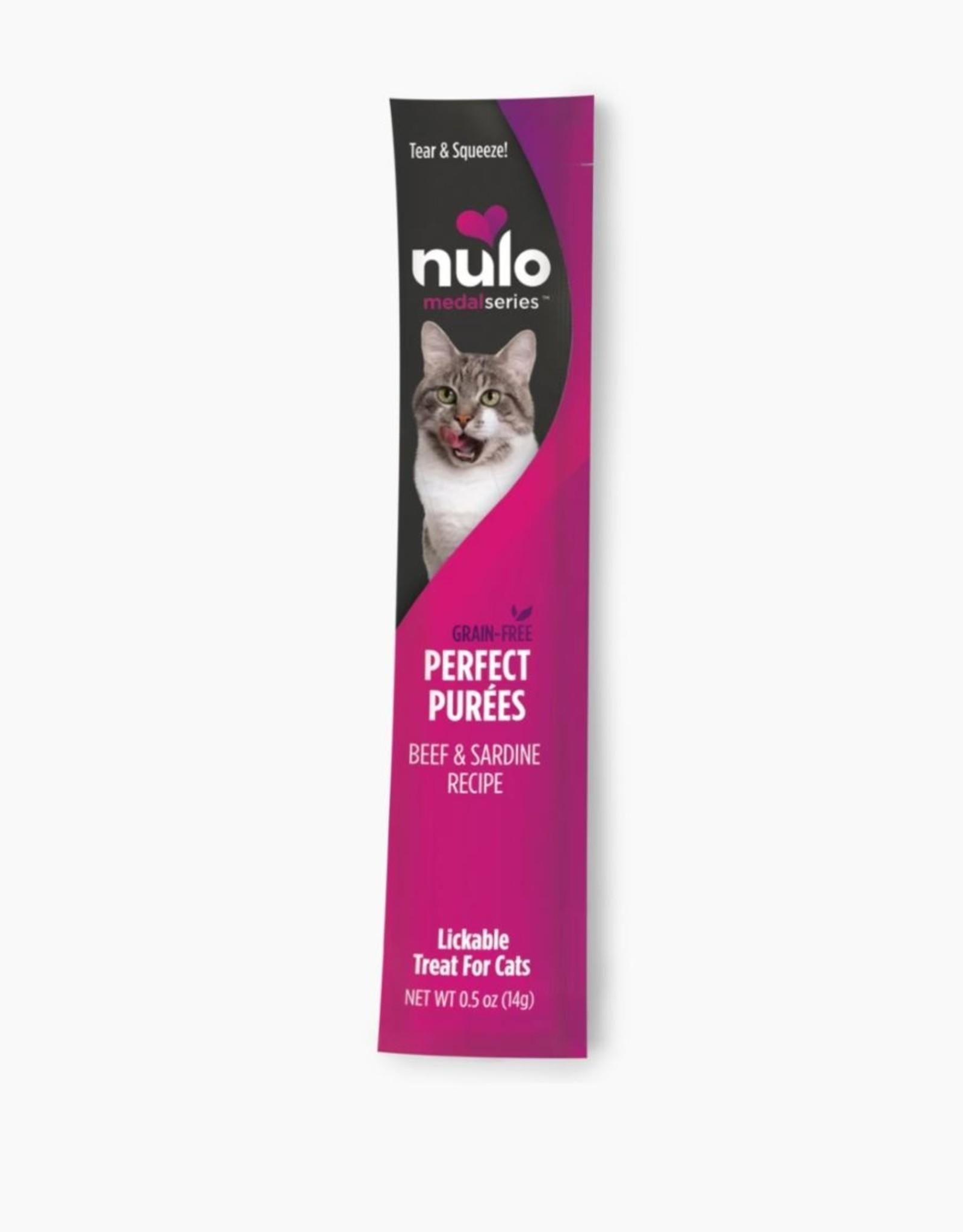 Nulo Grain-Free Perfect Purees Beef & Sardine .5 oz