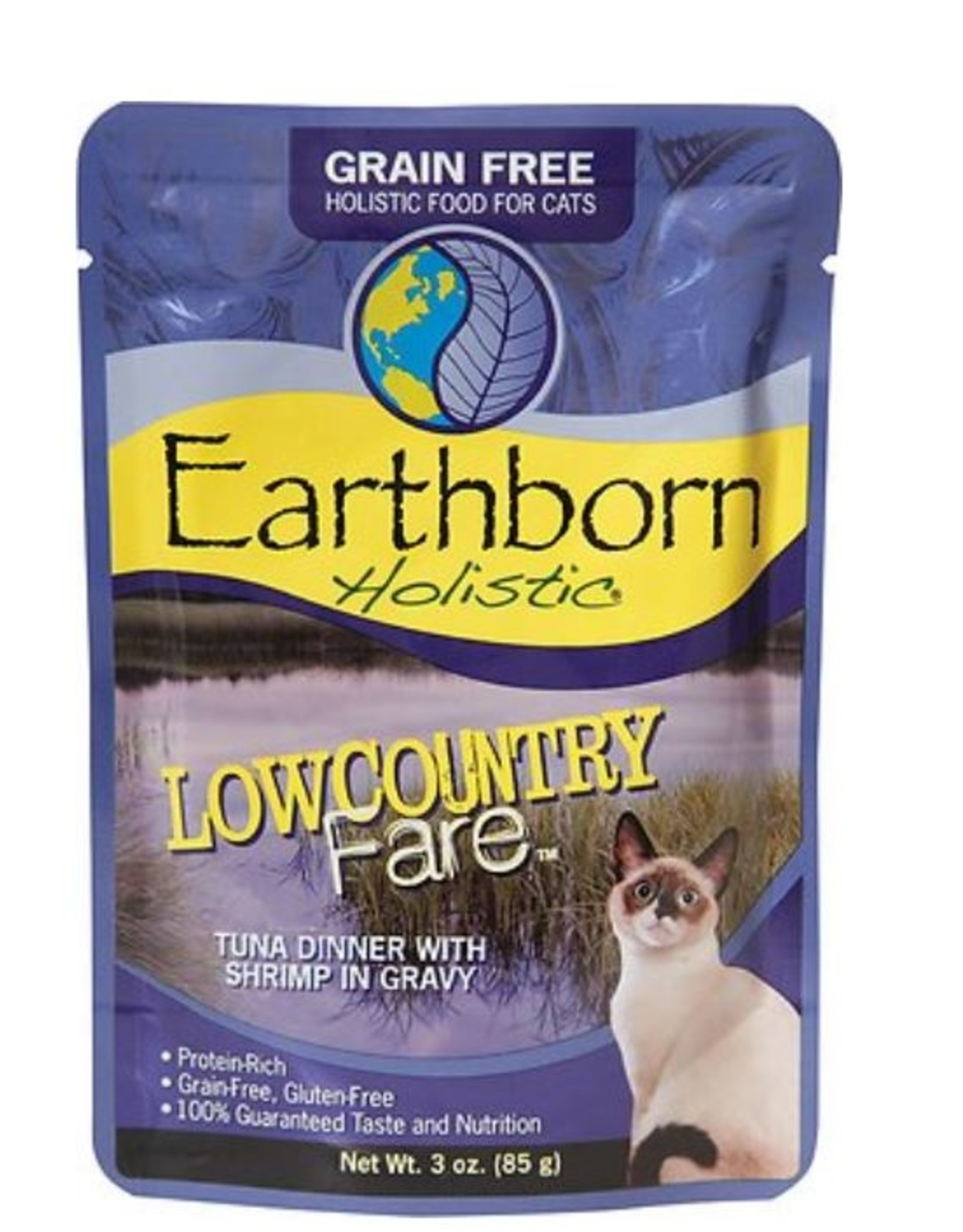 Earthborn Lowcountry Fare Cat Pouch 3oz