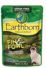 Earthborn Fin & Fowl Tuna Cat Pouch 3oz