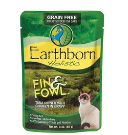 Earthborn Fin & Fowl Tuna Cat Pouch 3oz
