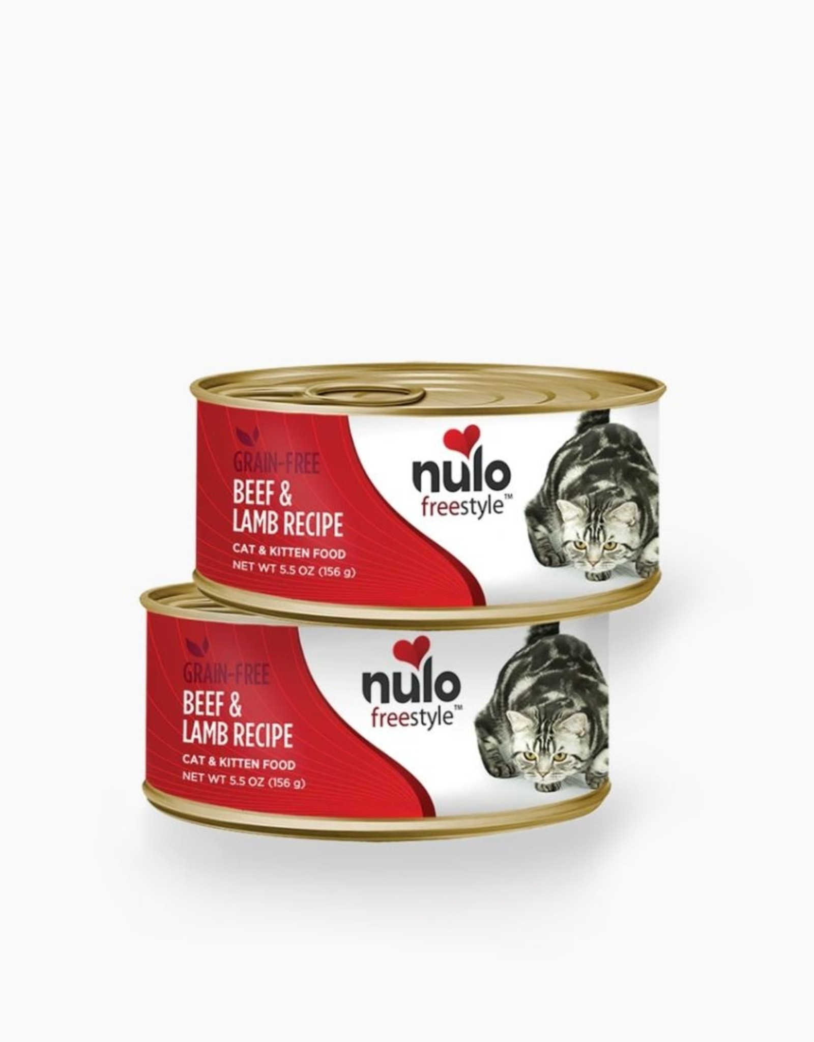 Nulo Can Cat Beef, Lamb 5.5oz