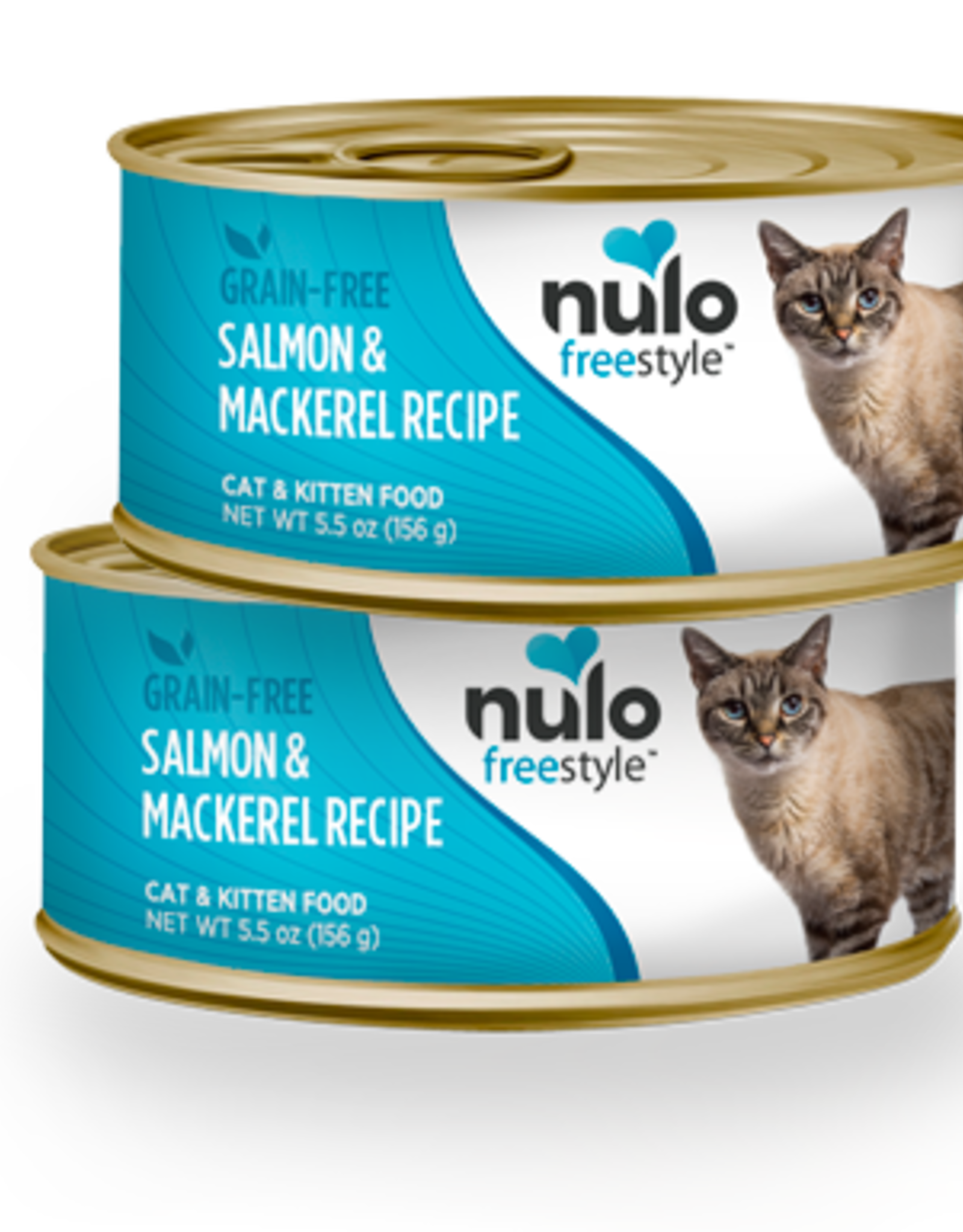 Nulo Can Cat Salmon, Mackerel 5.5oz
