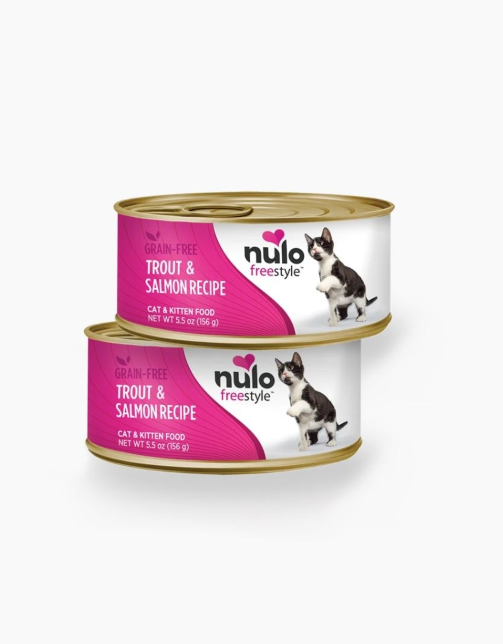 Nulo Can Cat Trout, Salmon 5.5oz