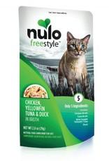 Nulo Pouch Cat Chicken, Tuna, Duck Broth 2.8oz