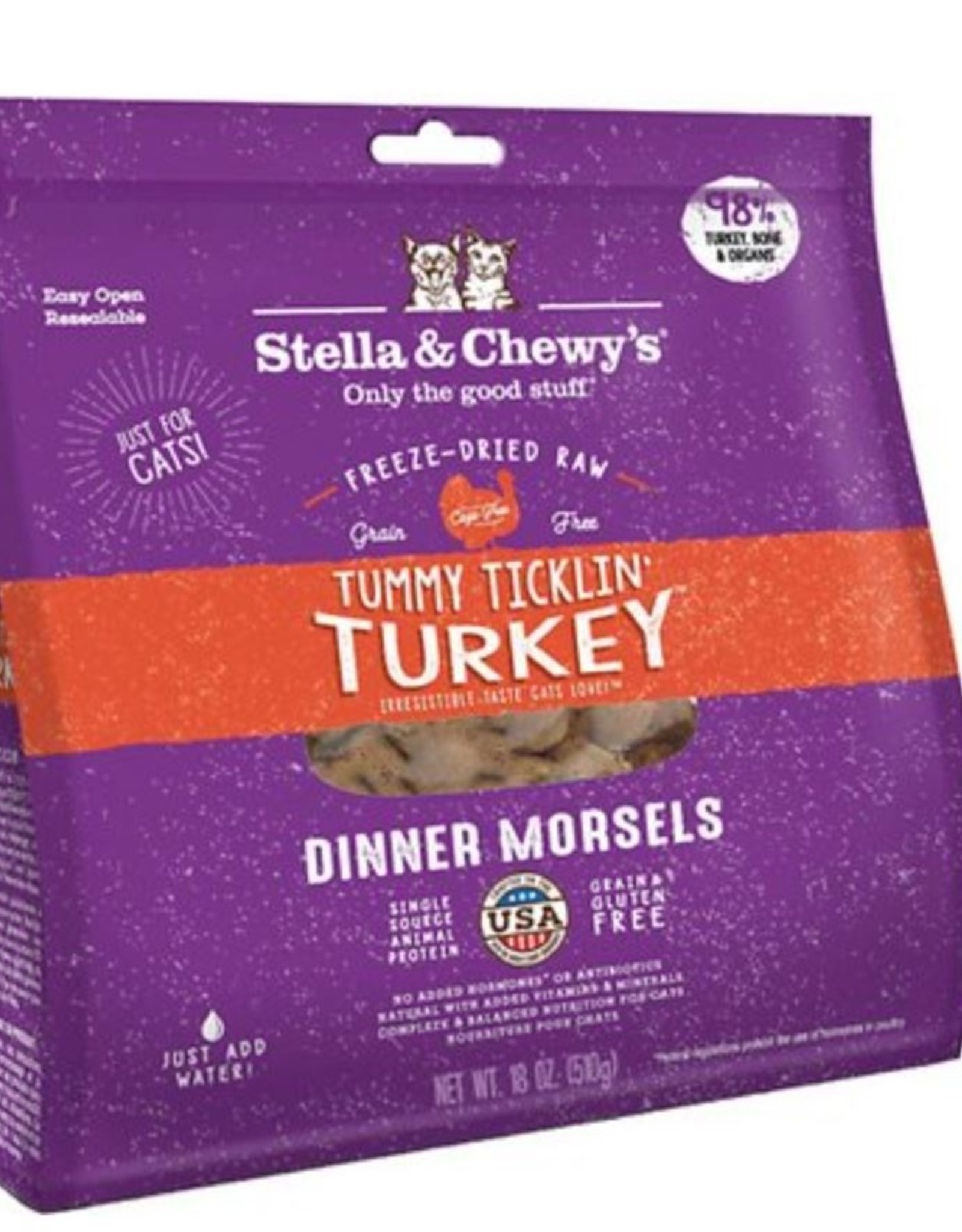 Stella & Chewy's Tummy Ticklin Turkey for Cats