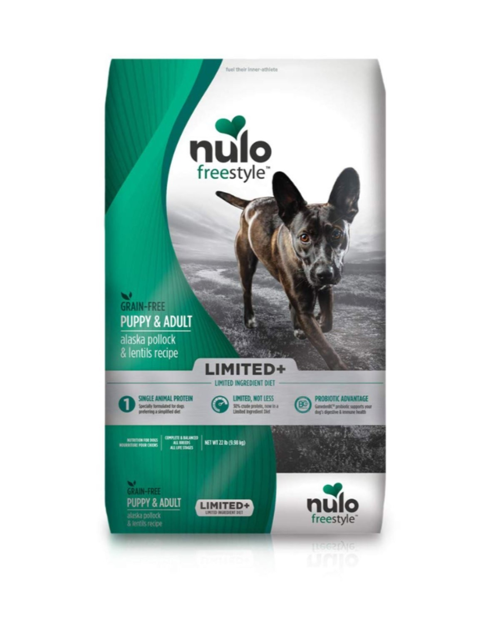 Nulo Limited+ Puppy & Adult Pollock & Lentils