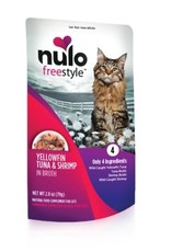 Nulo Pouch Cat Tuna, Shrimp Broth 2.8oz