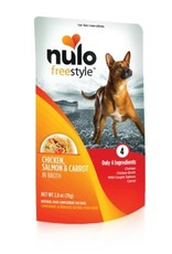 Nulo Pouch Dog Chicken, Salmon, Carrot Broth  2.8oz