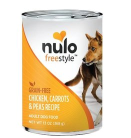 Nulo Can Dog Chicken, Carrots, Peas 13oz