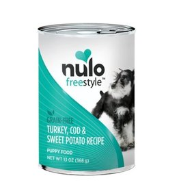 Nulo Can Puppy, Turkey, Cod, Sweet Potato 13oz