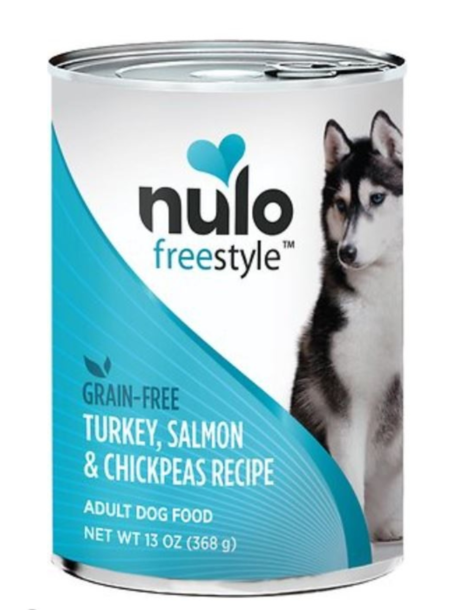 Nulo Can Dog Salmon, Chickpeas 13oz