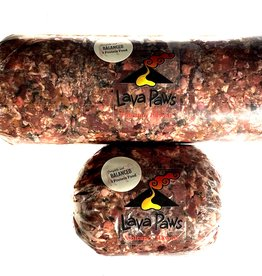 Lava Paws Raw Beef Chub