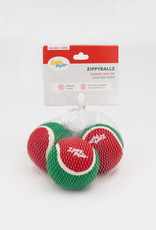 ZippyPaws Holiday ZippyBallz 3-Pack