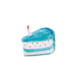 ZippyPaws Zippy Paws Birthday Cake Blue