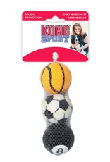 Kong Sport Balls MD Asst 3pk