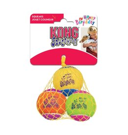 Kong Airdog Squeak Ball Birthday