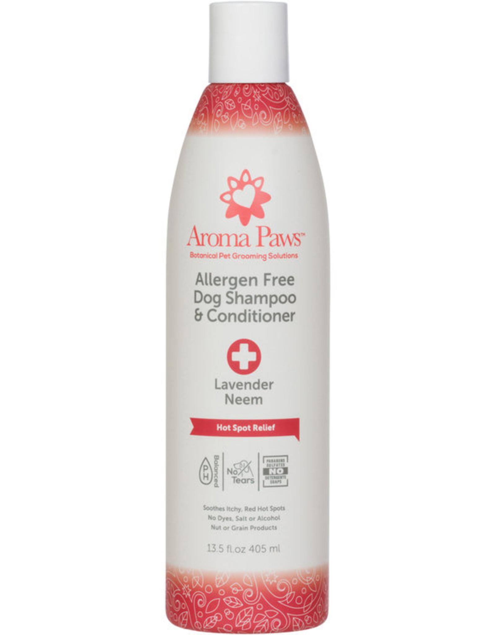 Allergen Free Hot Spot Relief Dog Shampoo- Hot Spot Relief Formula 13.5 Oz