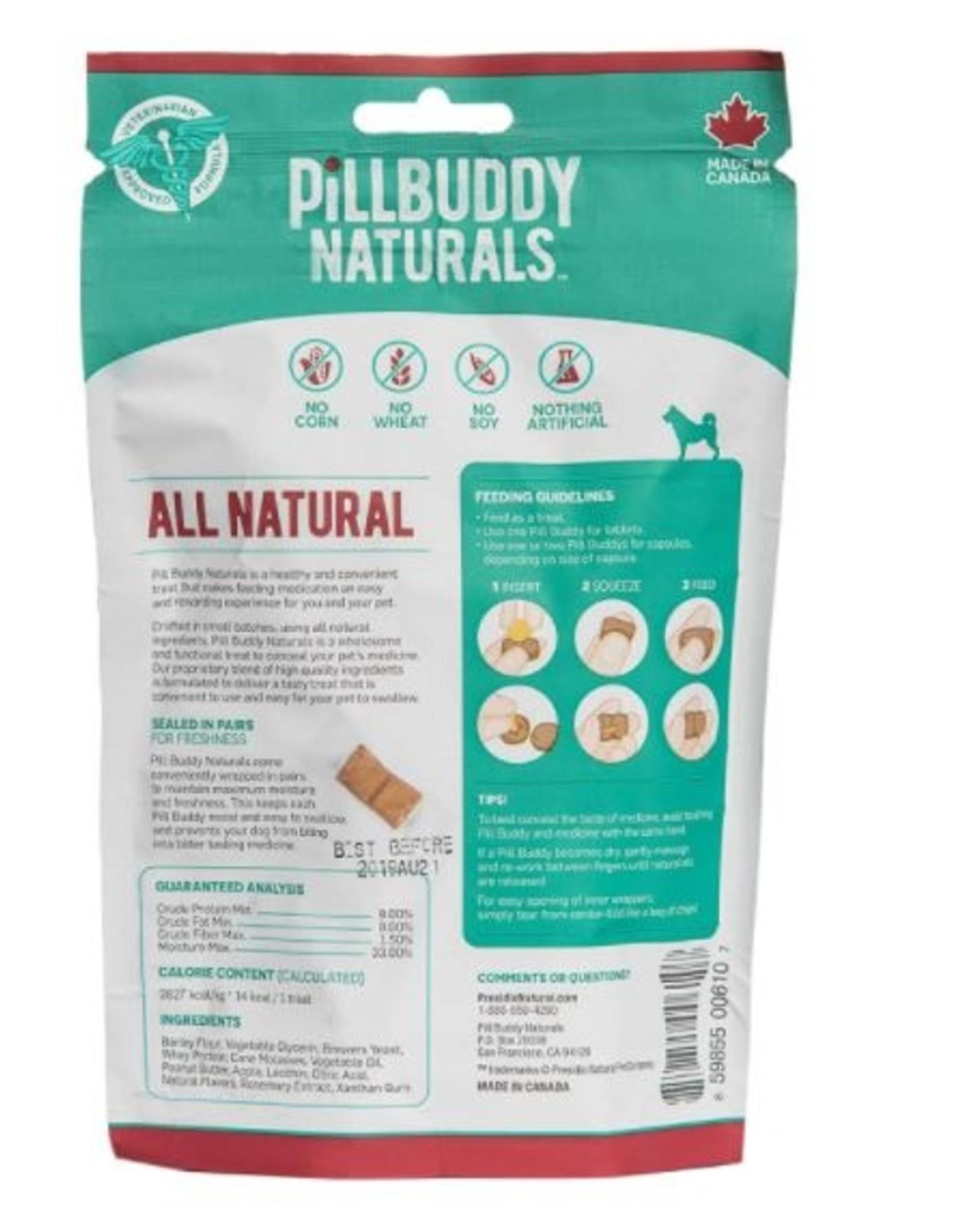 Presidio Natural Pet Co. Pill Buddy Peanut Butter Apple 30ct
