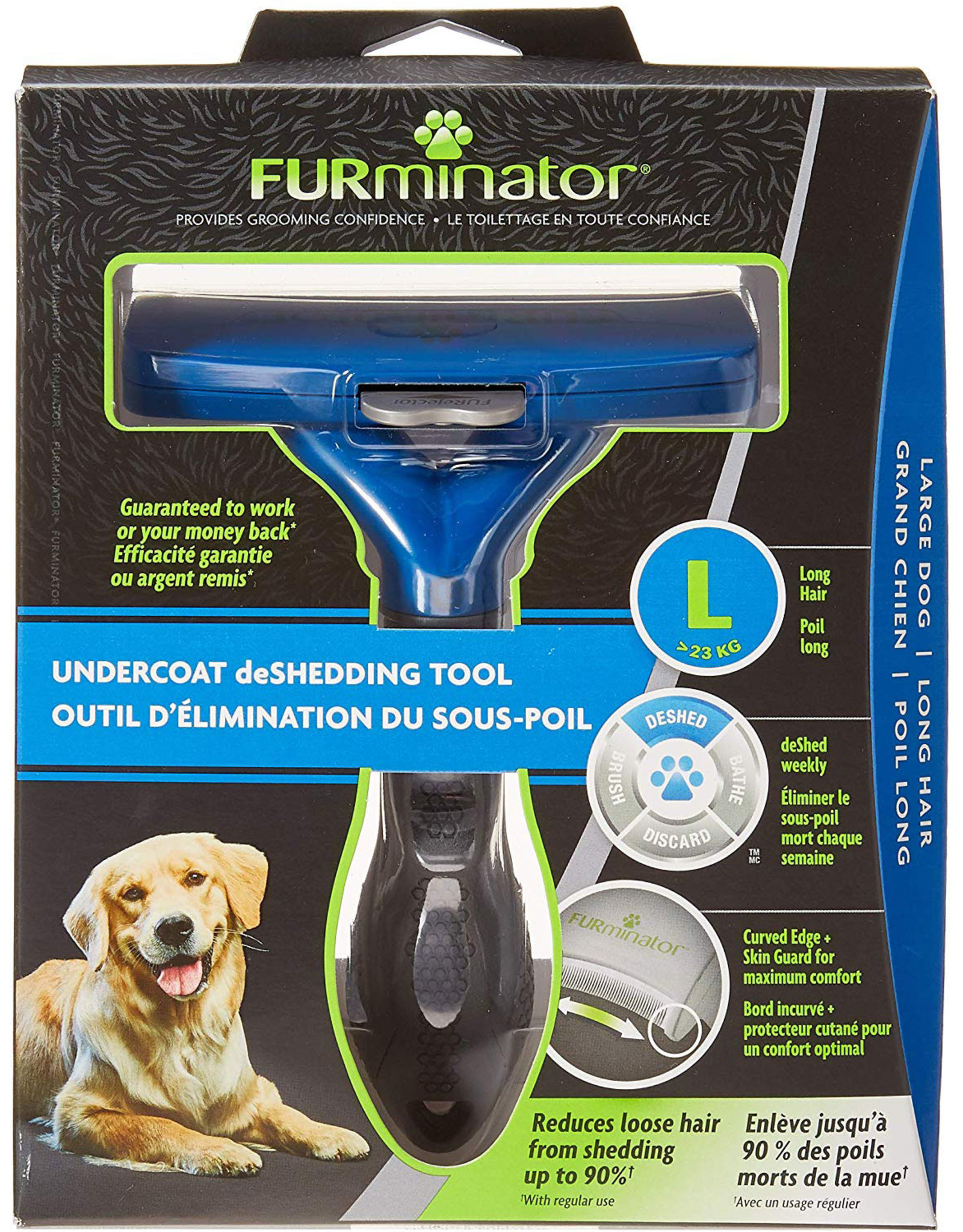 Furminator LONG HAIR Deshedding Tool