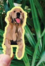 Bee Beachey Designs Happy Golden Sticker