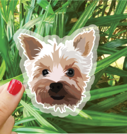 Bee Beachey Designs Yorkie Sticker