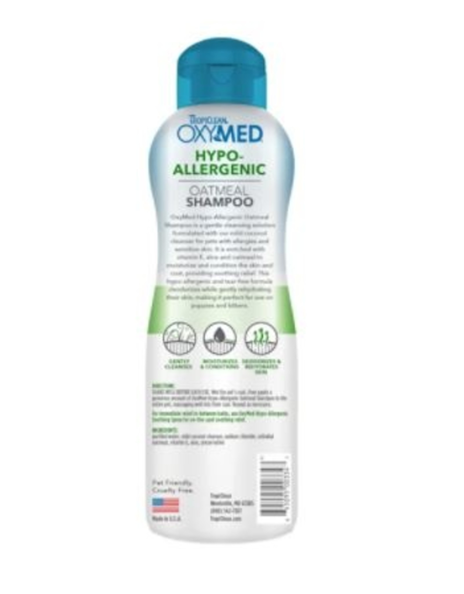 TropiClean Oxy Medicated Shampoo Dog, 20oz