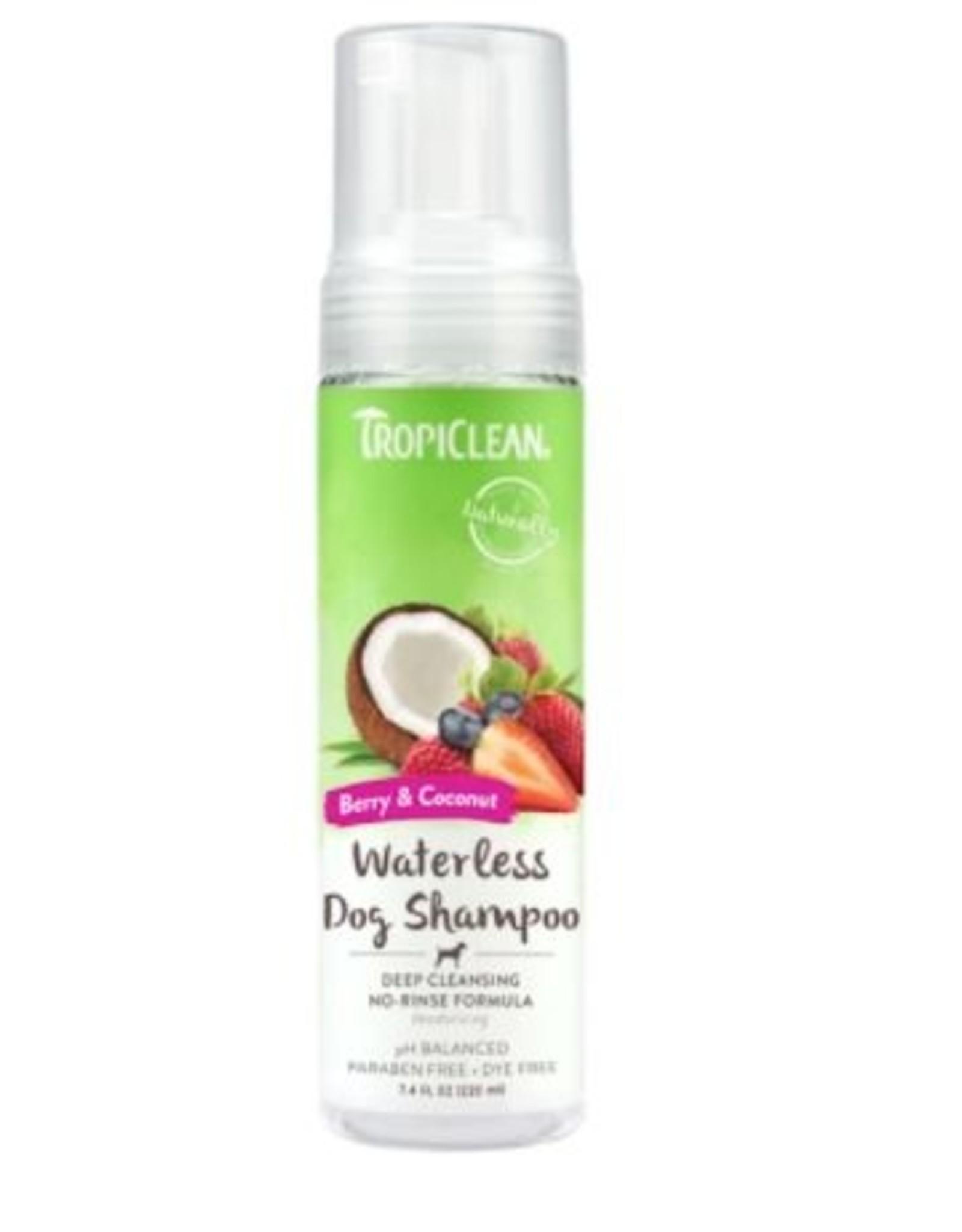 TropiClean Waterless Deep Shampoo 7.4oz