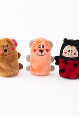 ZippyPaws Valentine Squeakie Buddies - 3 pack