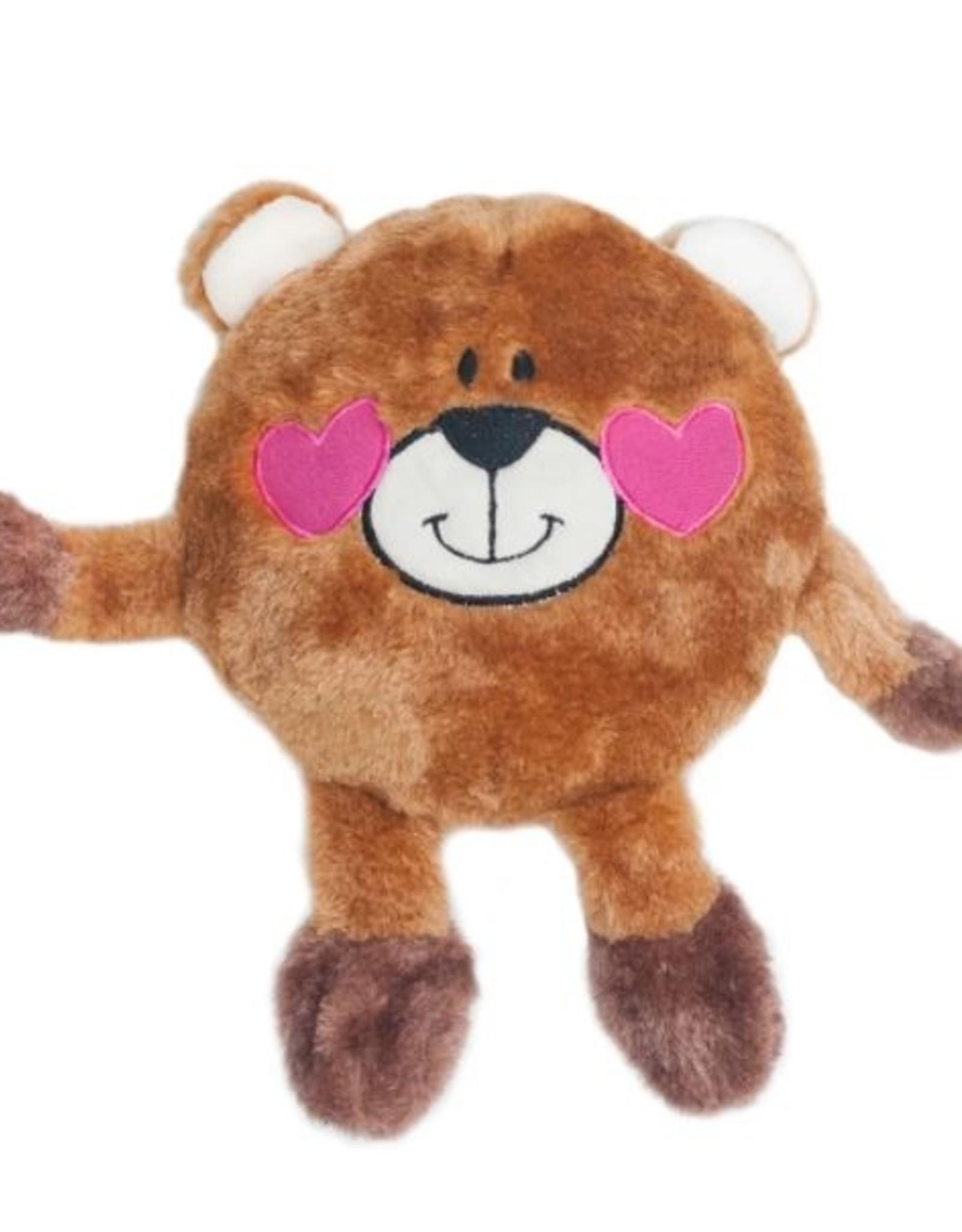 ZippyPaws Brainey Bear in Love