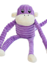 ZippyPaws Spencer the Crinkle Monkey - Purple
