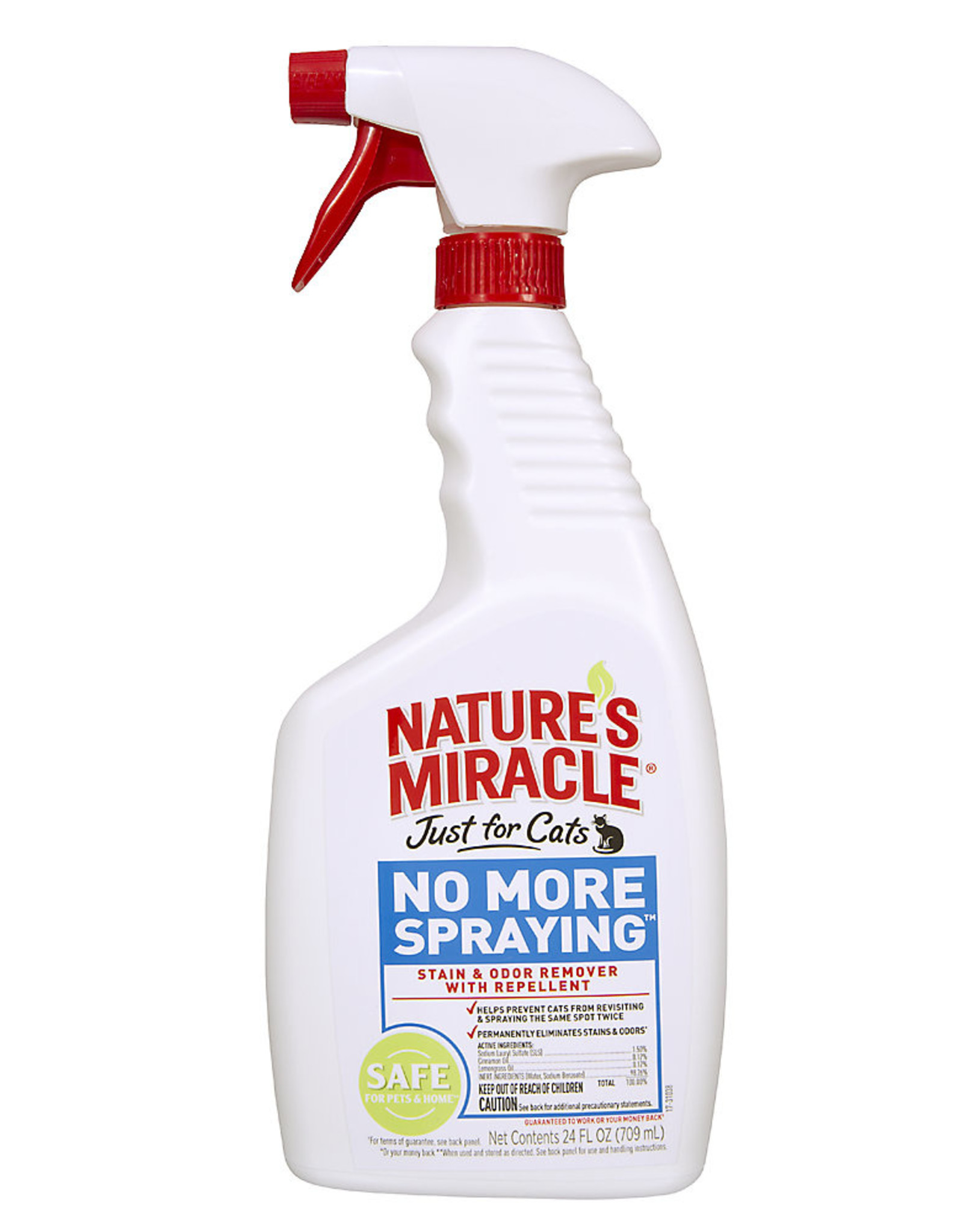 Natures Miracle Just for Cats S&O Remover Spray 32oz