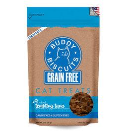 Buddy Biscuit Grain Free Tuna Cat Treat 3z