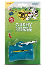 Cushy Cushy Dog Poop Bag Dispenser with 14 Waste Bags