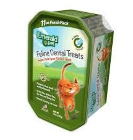 Emerald Pet Cat Dental Trt TUB Catnip 11oz
