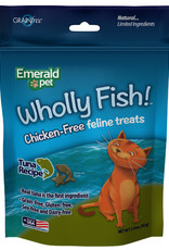 Emerald Pet Wholly Fish! Tuna Cat Treat 3 oz