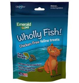 Emerald Pet Wholly Fish! Tuna Cat Treat 3 oz