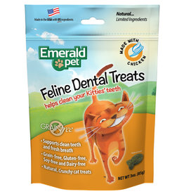 Emerald Pet Cat Dental Trt Catnip 3oz