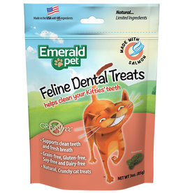 Emerald Pet Cat Dental Trt Salmon 3oz