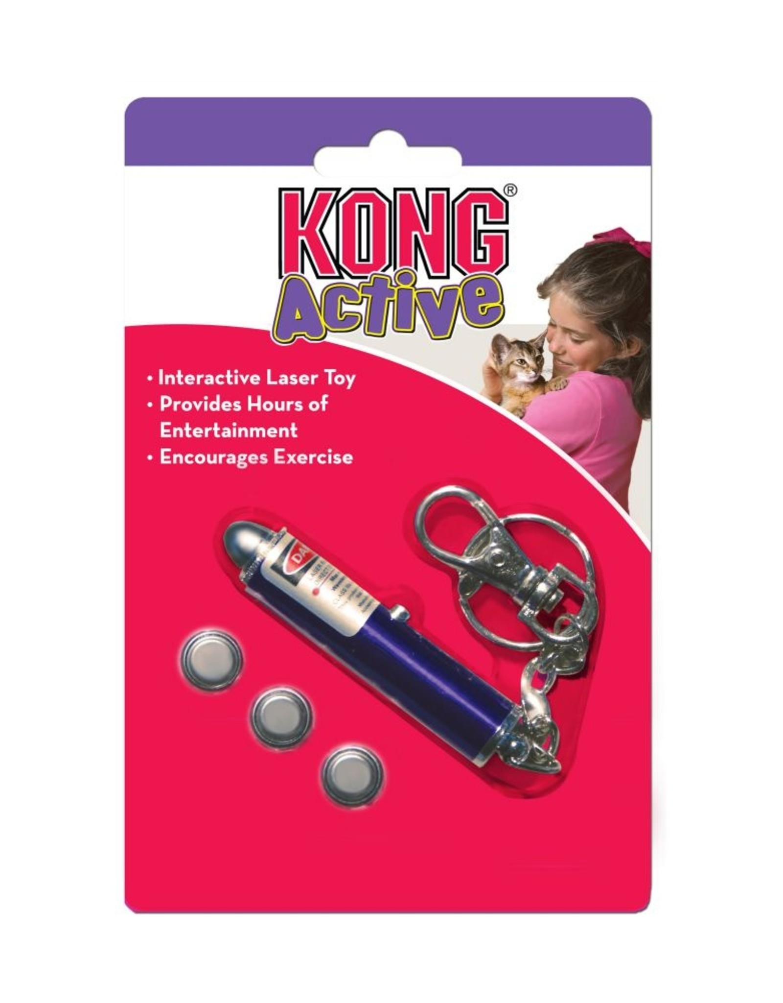 Kong Laser Toy Cat
