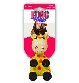 KONG® Wiggi™ Giraffe Dog Toy Yellow Small